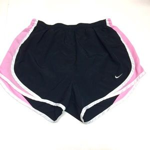🌸Nike Black And Pink Athletic Shorts S